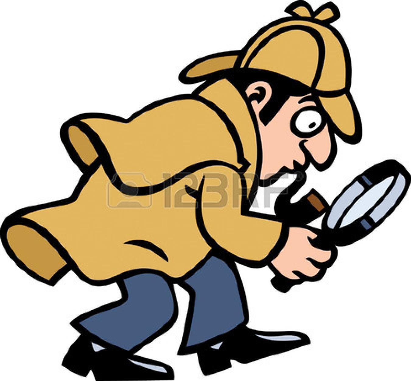 Cartoon Detective Clipart Free.