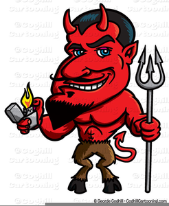 Free Cartoon Devil Clipart.