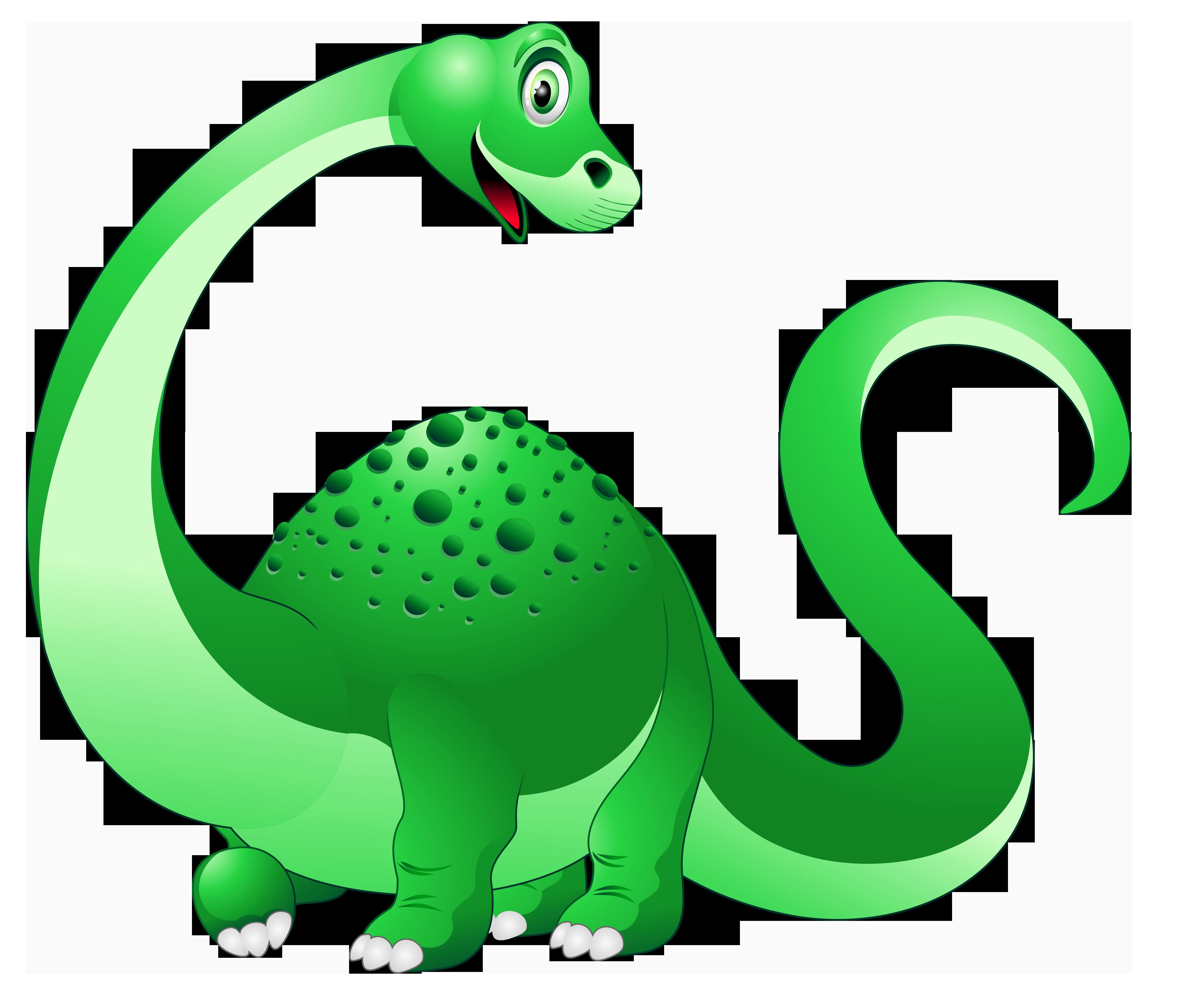 Dinosaur Cartoon PNG Clipart Image.