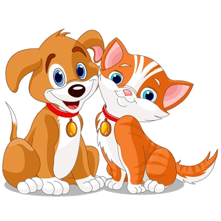 98+ Dog And Cat Clipart.