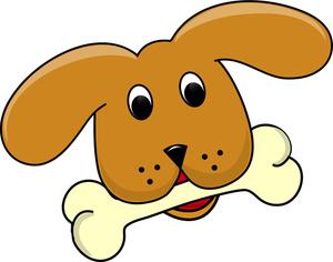 Cute Dog Bone Clipart.