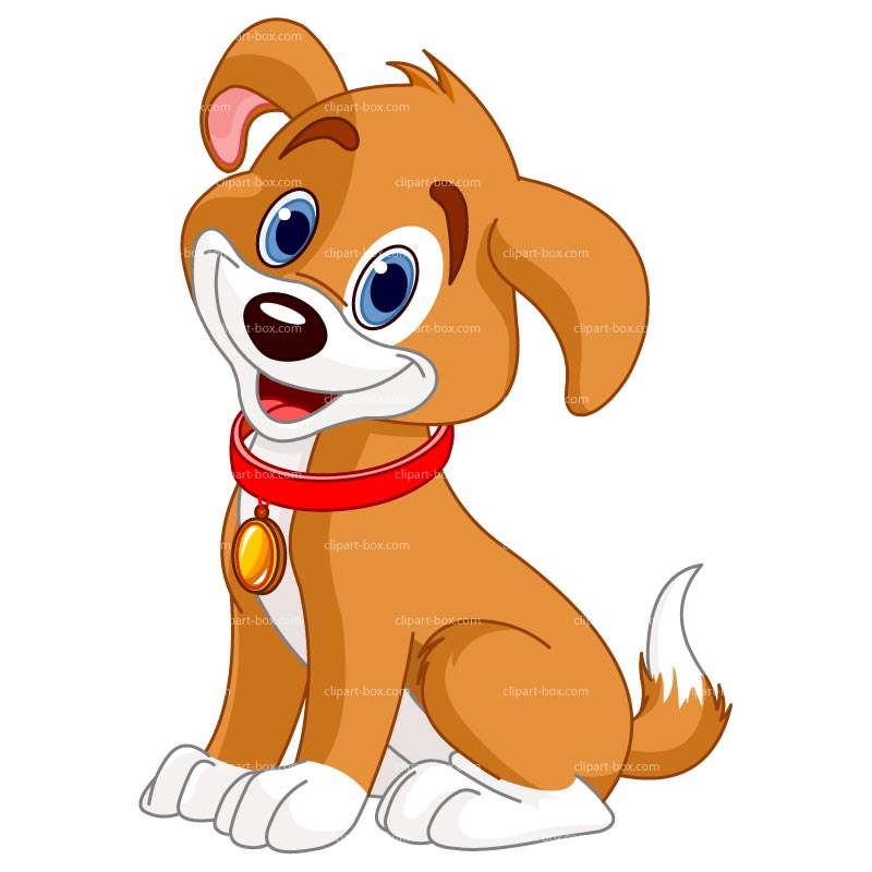 Cartoon dog clipart Collection.