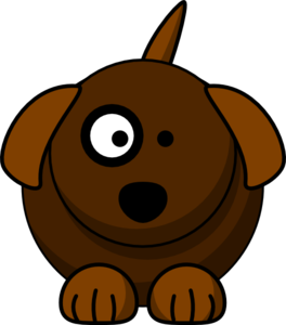 Cartoon Dog Clip Art at Clker.com.