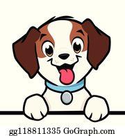 Cartoon Dog Clip Art.
