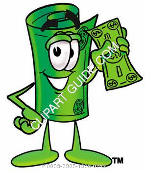 Cartoon dollar bill clipart 1 » Clipart Station.