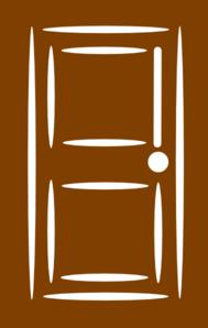 Cartoon Doors Clipart.