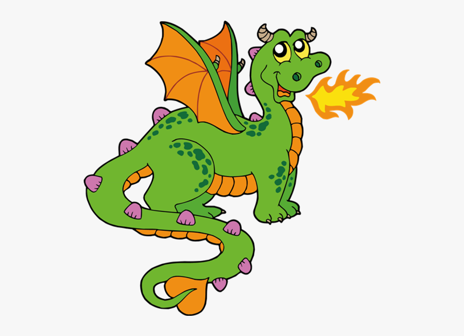 Fire Breathing Dragon Clipart 2 By Rickey.