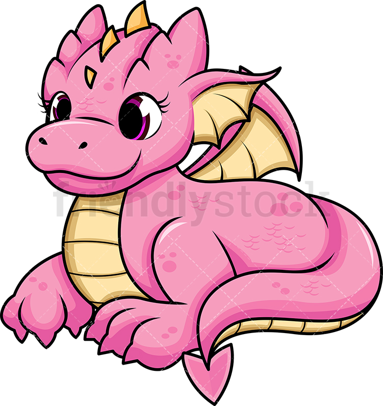 Pink Female Dragon.