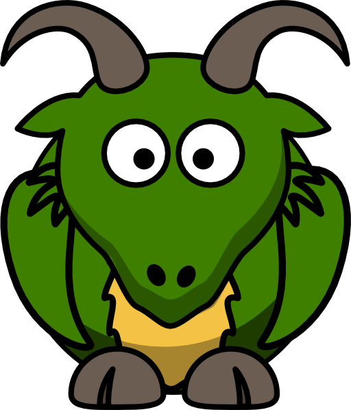 Cartoon Dragon Clipart.