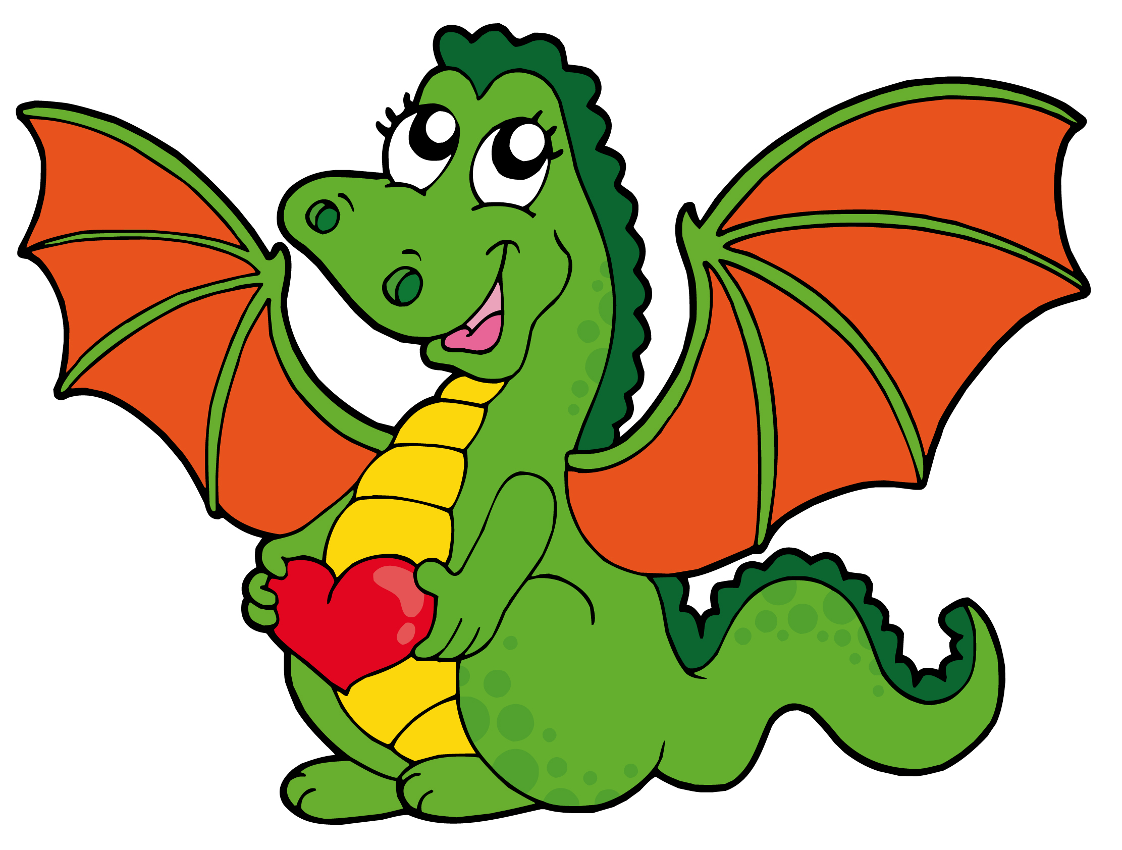 Free Cartoon Dragons, Download Free Clip Art, Free Clip Art.