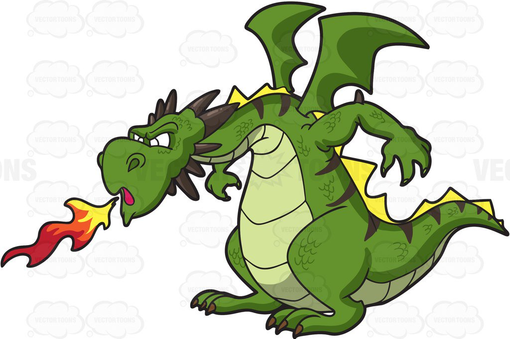 Cartoon Dragon Clipart at GetDrawings.com.