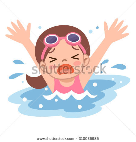 Drowning Person Stock Images, Royalty.