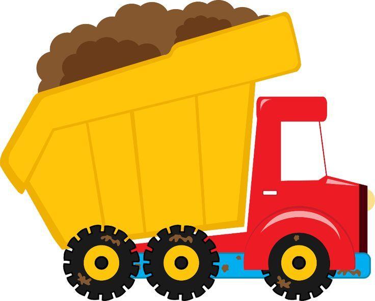 Dump truck clipart images.