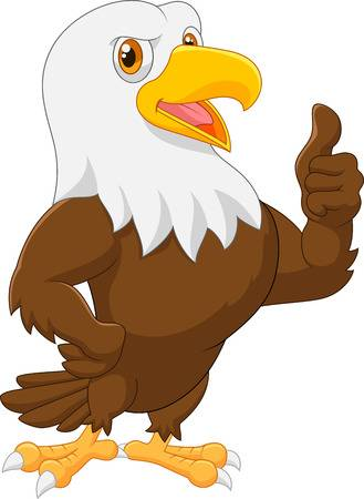 5,829 Cartoon Eagle Stock Vector Illustration And Royalty Free.