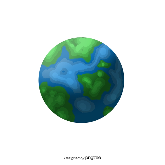 Cartoon Earth PNG Images.