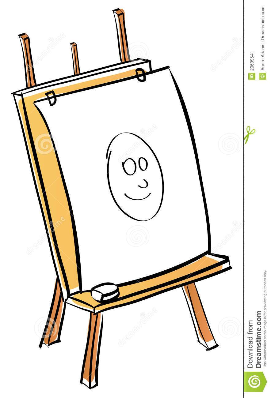 Cartoon easel clipart 6 » Clipart Portal.