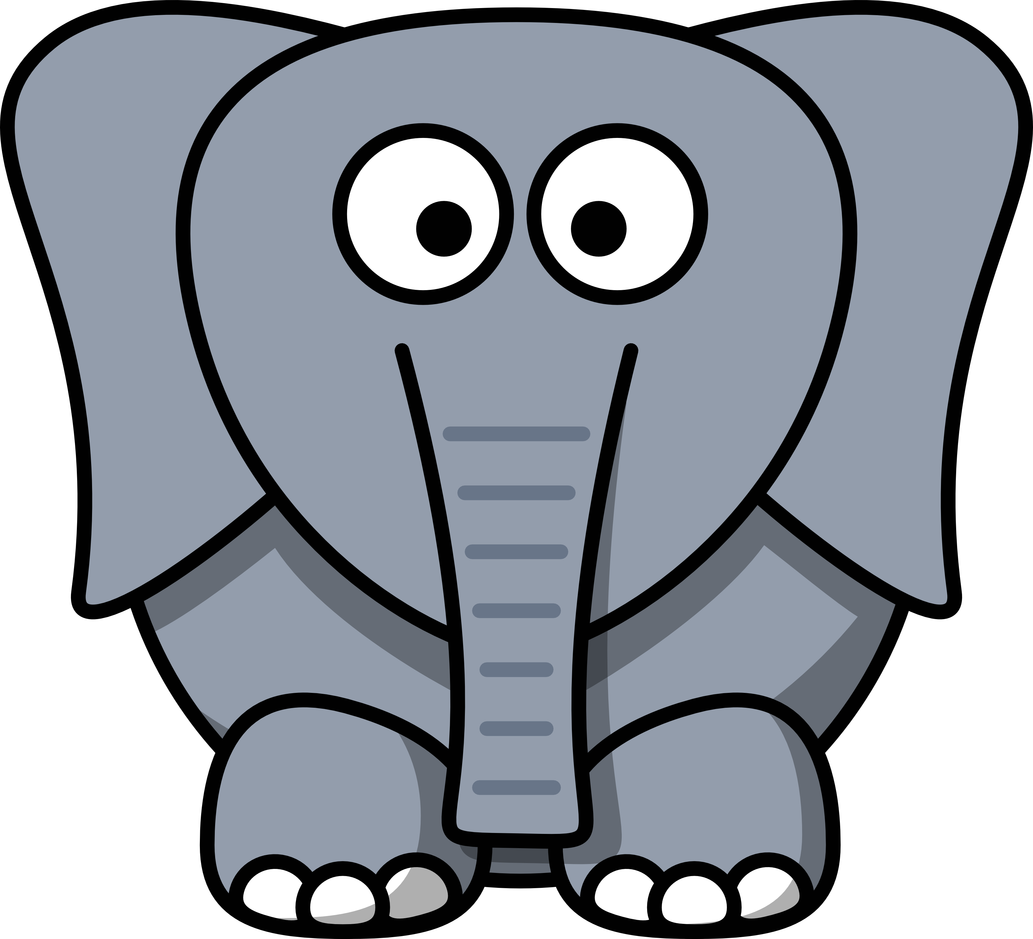 Free Pictures Of Cartoon Elephants, Download Free Clip Art.