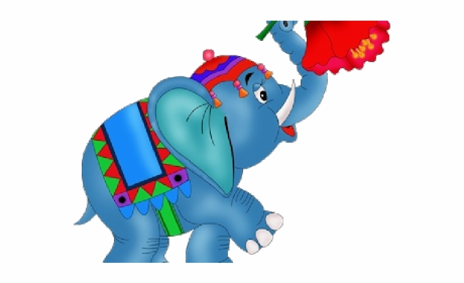 Circus Cartoon Elephant Free PNG Images & Clipart Download #1397486.