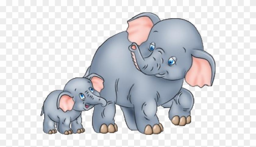 Elephant Cartoon Clip Art.