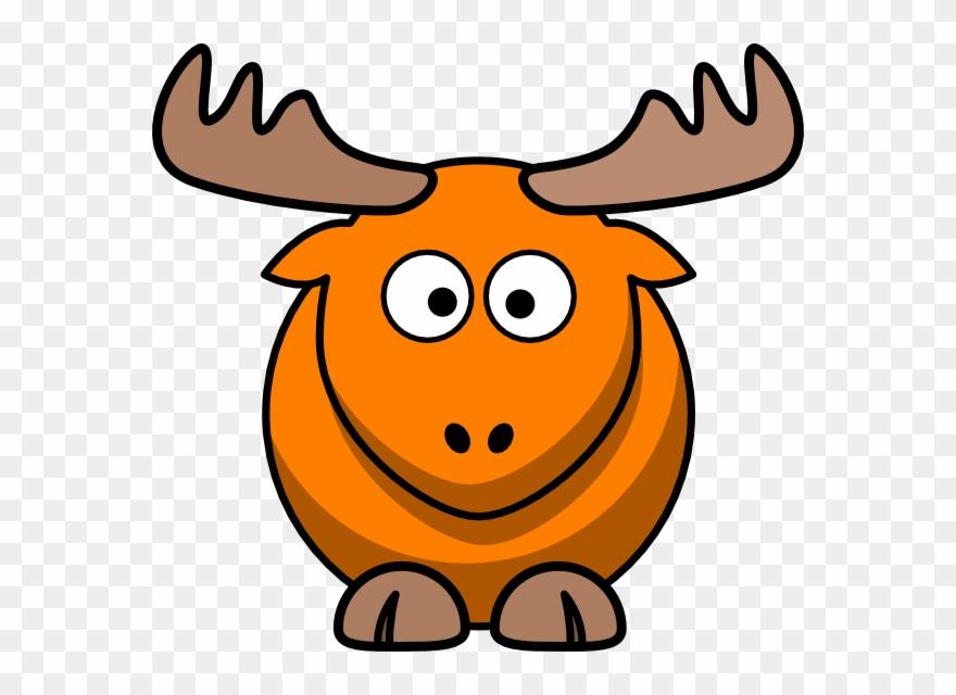 Cartoon Elk Clipart (#863625).