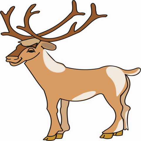 Elk clipart animated, Elk animated Transparent FREE for.