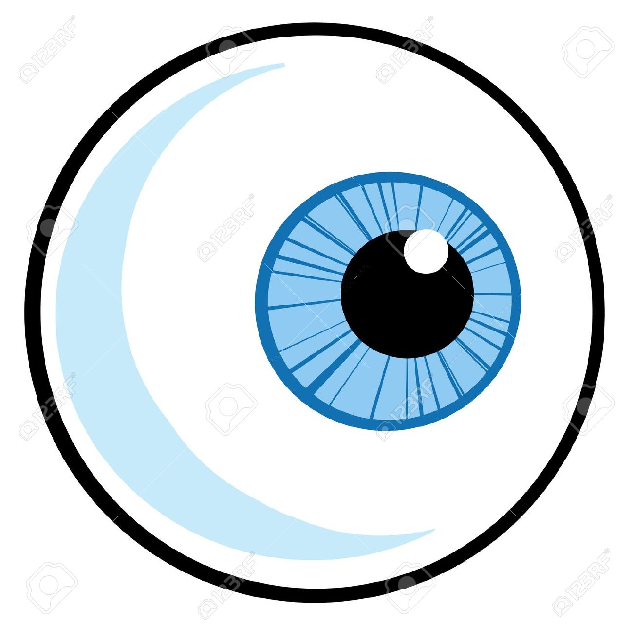 Eyeballs Cartoon.