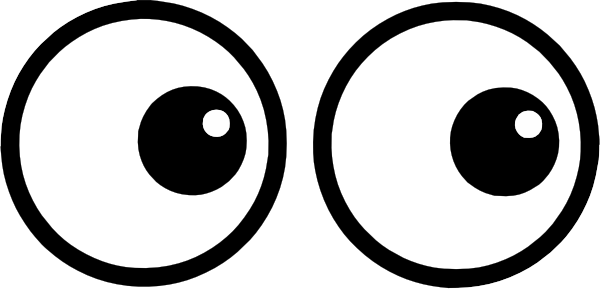 Cartoon Eyes PNG, SVG Clip art for Web.