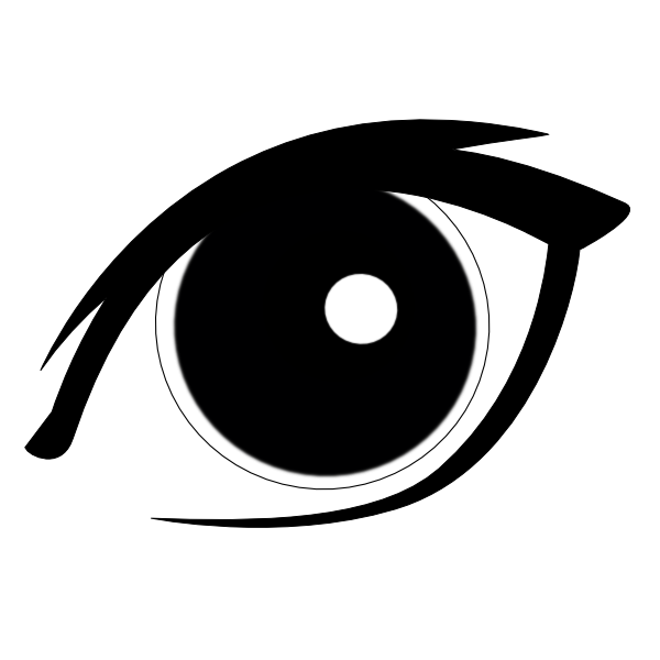Cartoon Eyes Clipart.