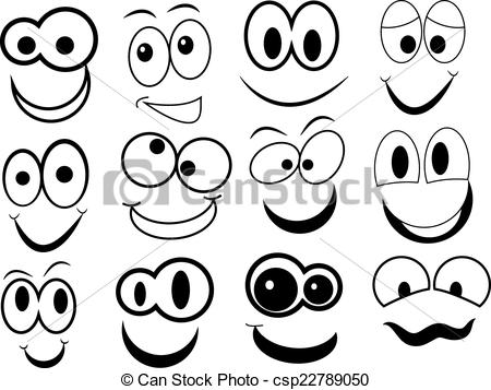 Cartoon face clipart » Clipart Station.