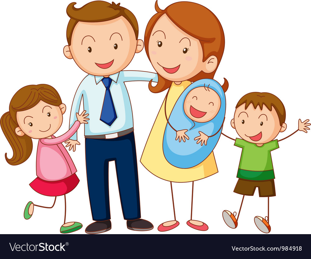 Cartoon Families Free Download Clip Art.
