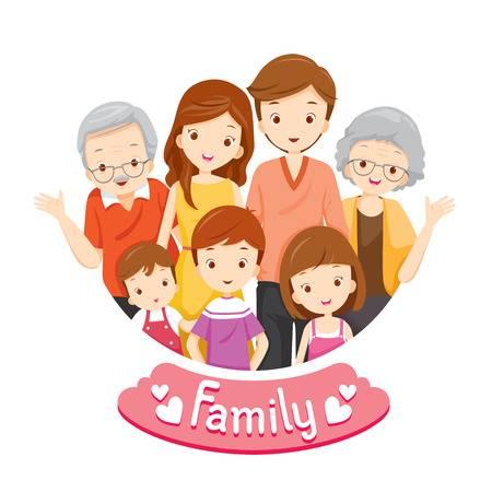 70,581 Happy Family Cartoon Stock Vector Illustration And Royalty.