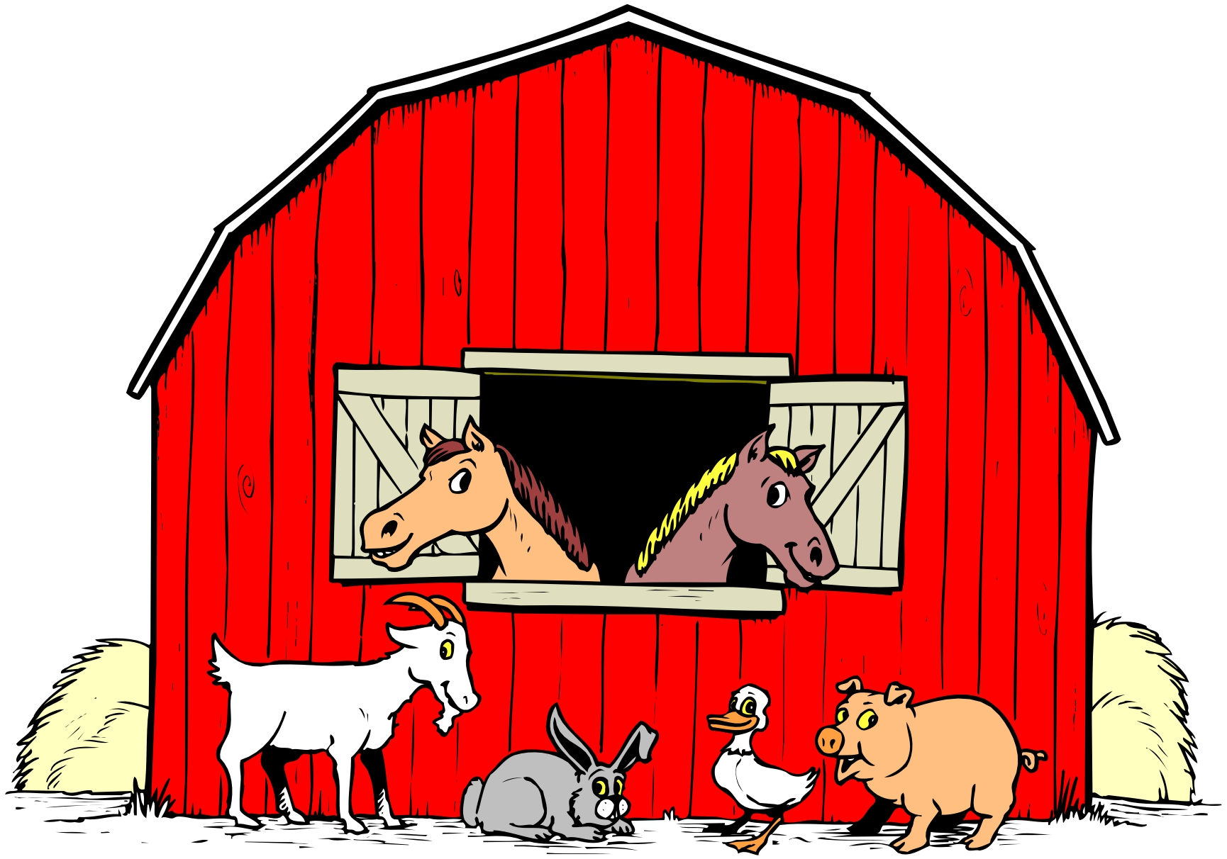 Free Pictures Of Cartoon Farm Animals, Download Free Clip.