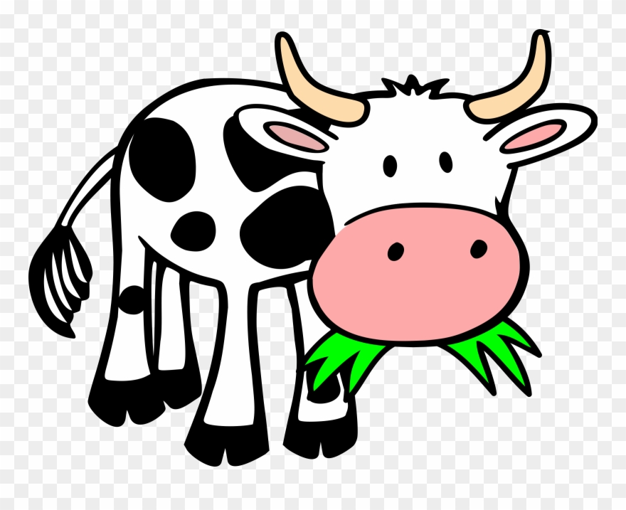 Free To Use Public Domain Cow Clip Art.