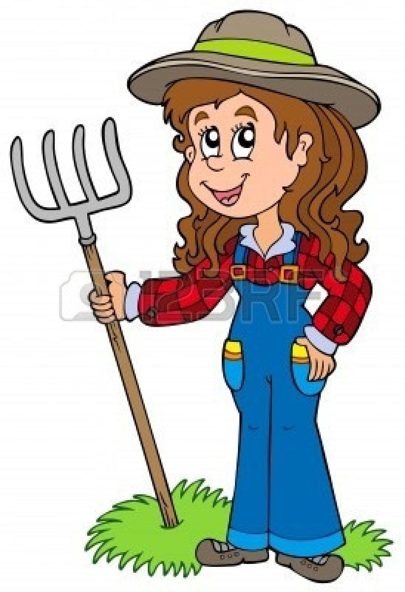 Free Cartoon Farmer, Download Free Clip Art, Free Clip Art.