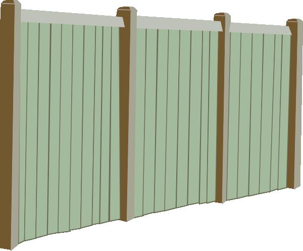 Cartoon Fence Clipart.