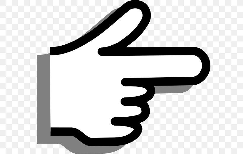 Index Finger Pointing Middle Finger Clip Art, PNG, 600x520px.
