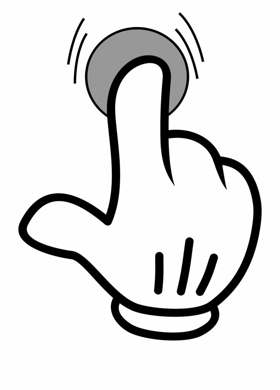 Index Finger Pointing Hand Computer Icons.