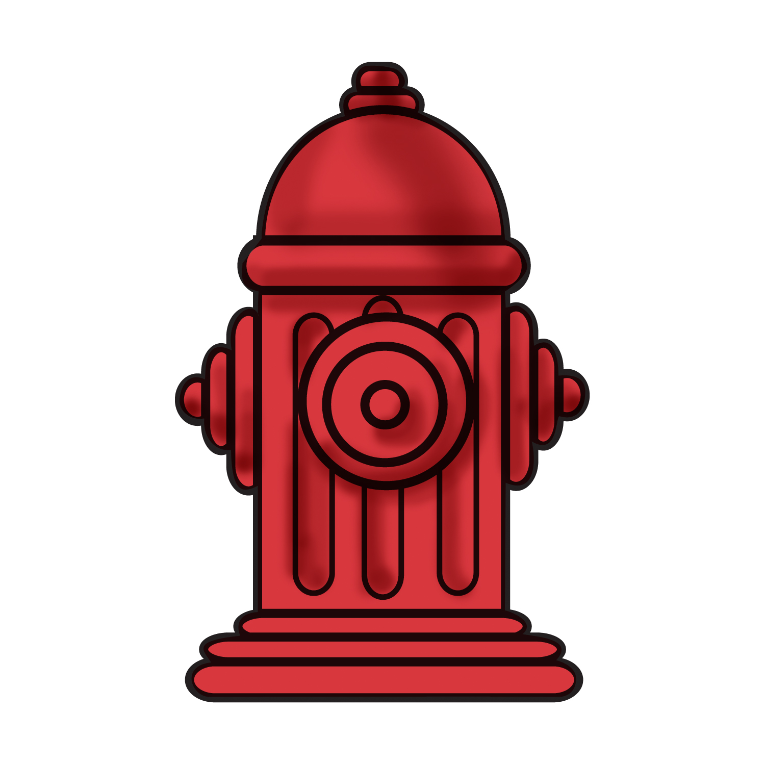 301 Fire Hydrant free clipart.