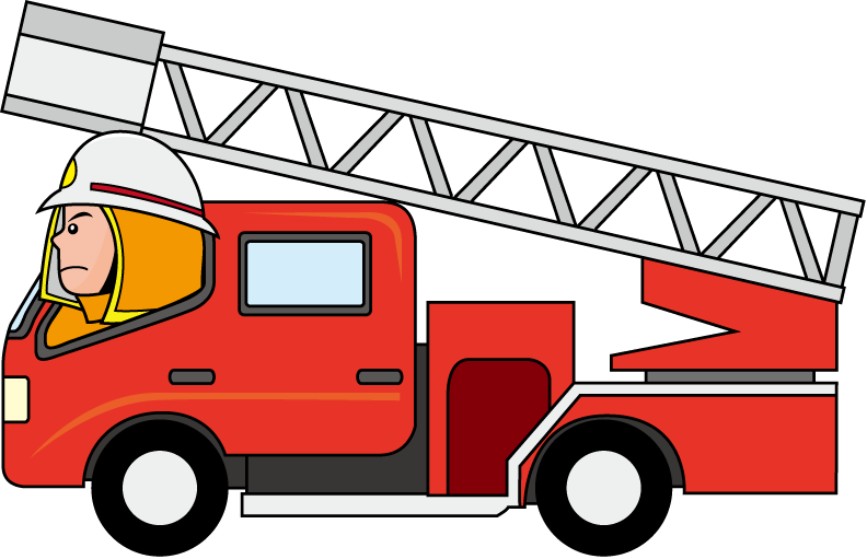 Firetruck cartoon fire truck clipart.
