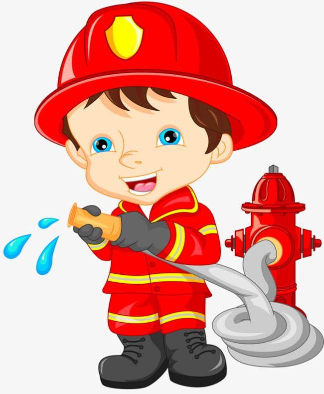 Cartoon Fireman PNG, Clipart, Cartoon, Cartoon Clipart, Character.