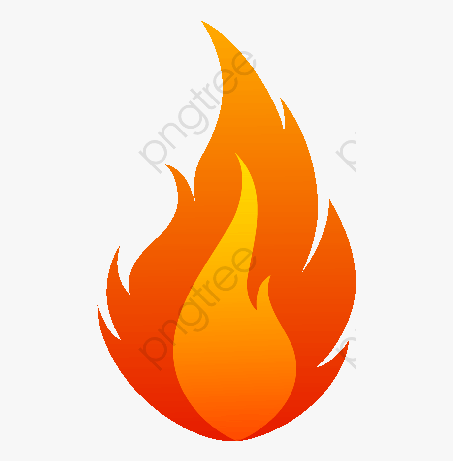 Flame Png Vector.