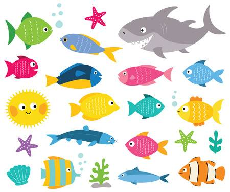 28,082 Colorful Fish Cliparts, Stock Vector And Royalty Free.