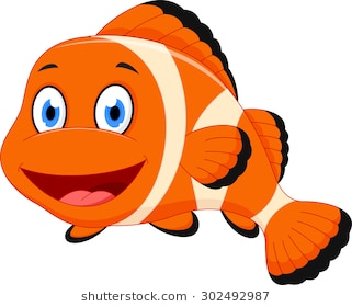 Cartoon fish clipart 4 » Clipart Station.