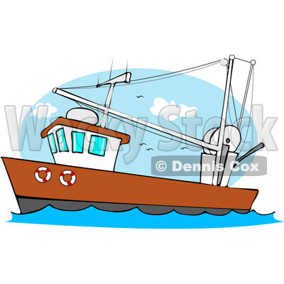 Boat Clipart by Dennis Cox.
