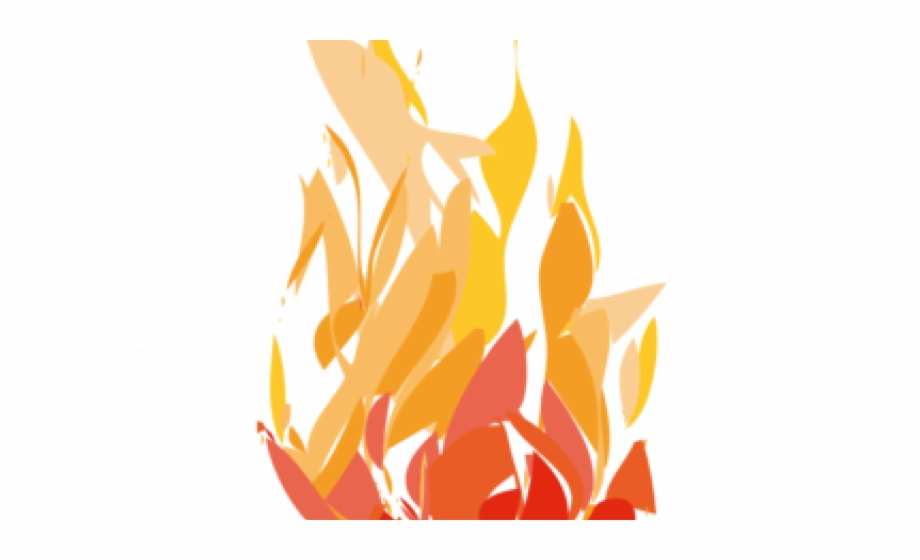 Cartoon Fire Flames Clipart , Png Download.
