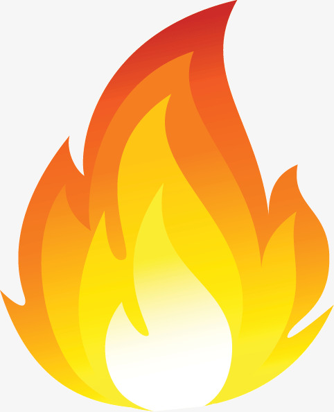 Flame Cartoon, Flame Clipart, Cartoon Clipart, Cartoon PNG.