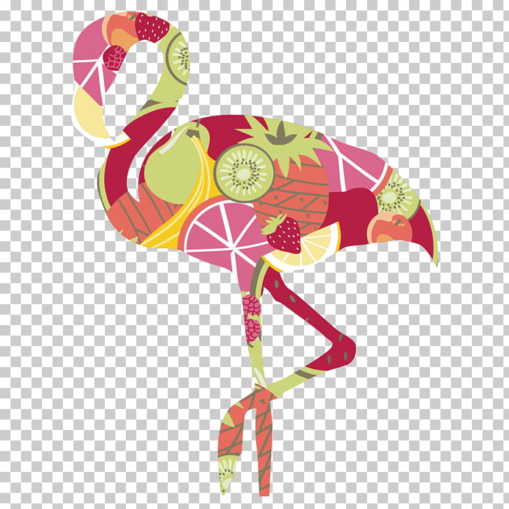 Flamingos Bird Euclidean , Cartoon Ostrich PNG clipart.