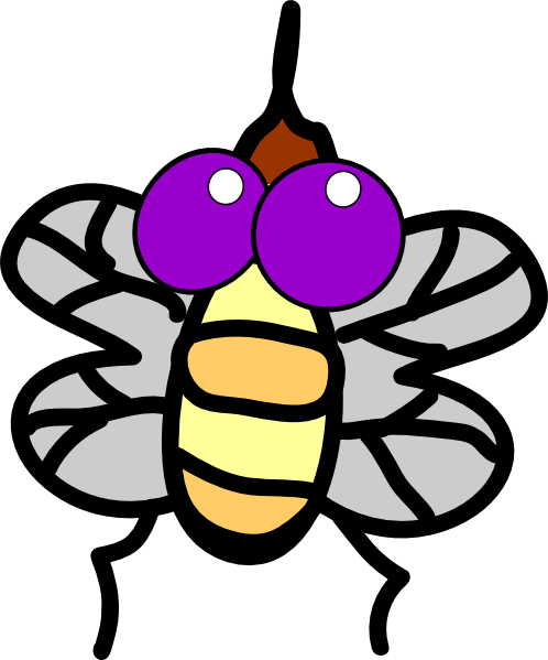 Cartoon Fly Clip Art at Clker.com.