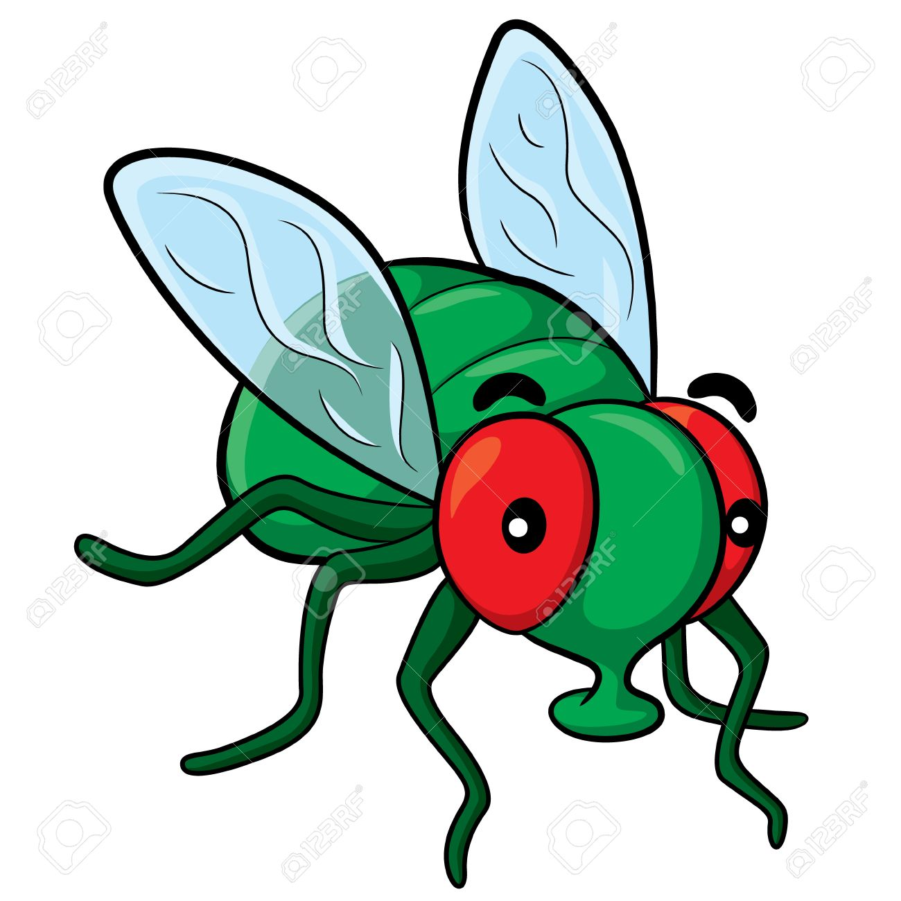 Cartoon flies clipart 4 » Clipart Station.