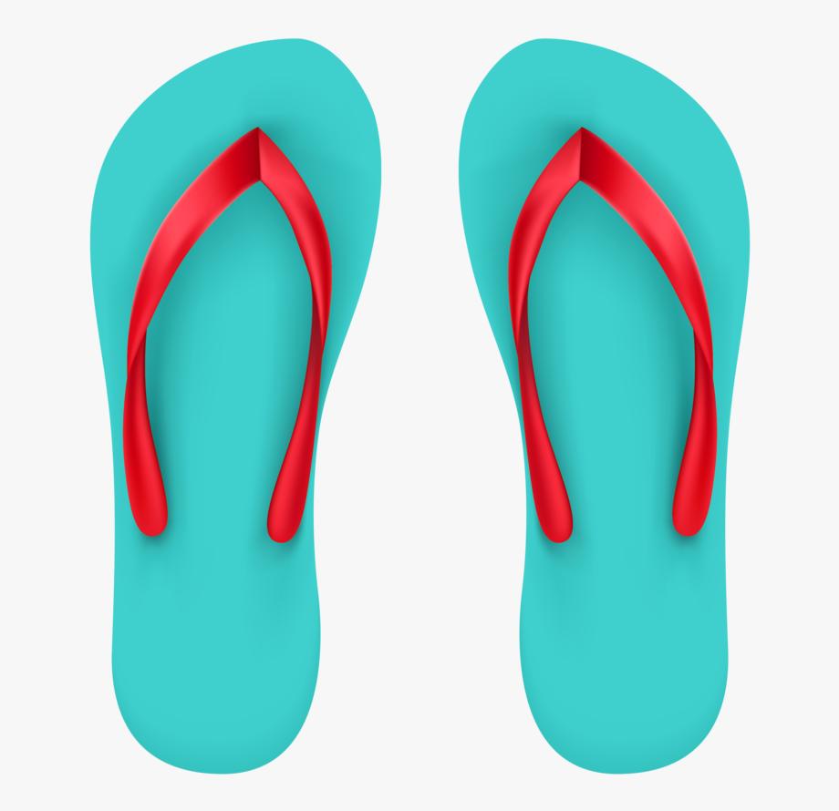 Beach Clipart Flip Flops.